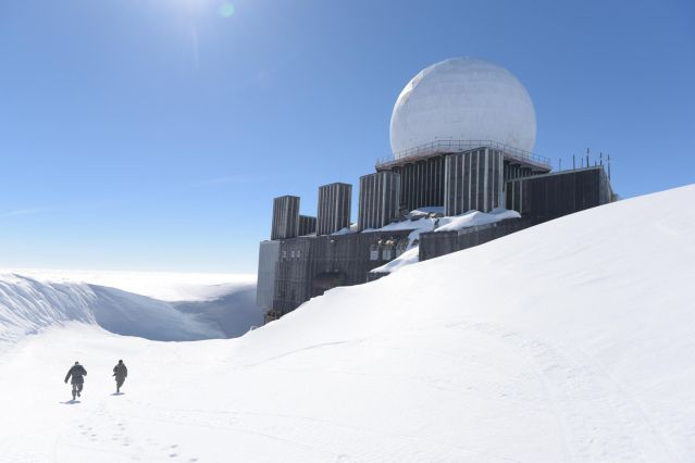 Voyage Sur la calotte polaire jusqu'à DYE-2