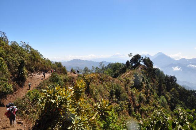Randonnée dans la montagne guatémaltèque - Guatemala