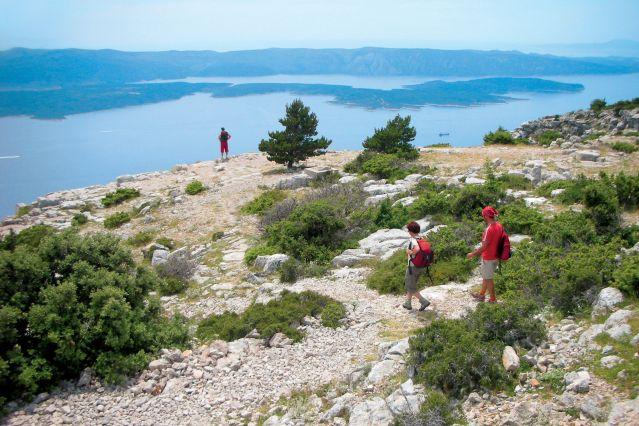 Vue sur Hvar - Ile de Brac - Croatie