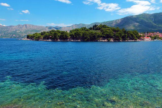 Aventures croates les pieds dans l'eau