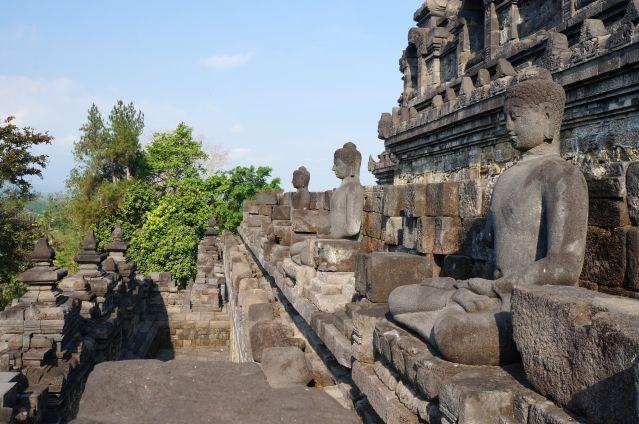 Borobudur - Java - Indonésie