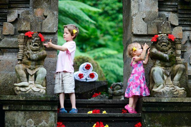 Décoration de sculptures - Bali - Indonésie