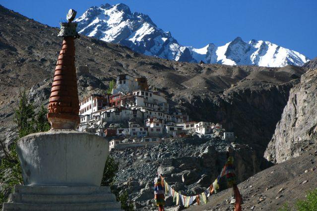 Village Diskit dans la vallée de la Nubra - Ladakh - Inde