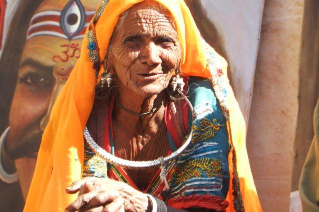 Indienne à Jodhpur - Inde
