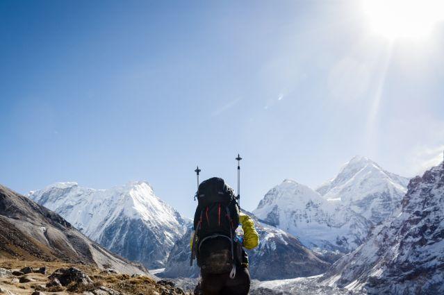 Katmandou - Kangchenjunga - Himalaya - Inde