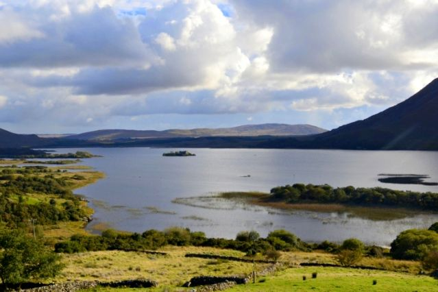 Lac Lough Corrib - Connemara - Irlande