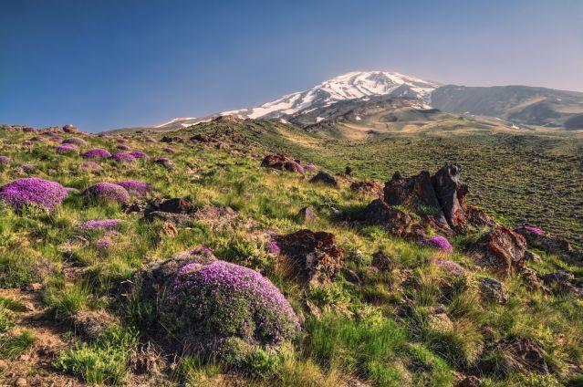 Grand Trek D Iran Ascension Du Damavand Et De L Alamkouh