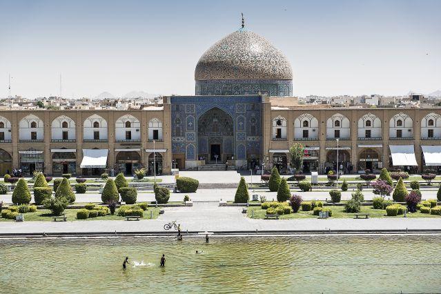 La place Naghsh-e Jahan - Ispahan - Iran