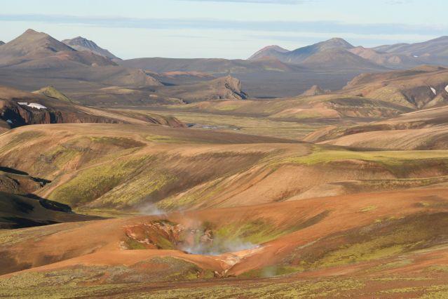 Hrafntinnusker - Landmannalaugar - Islande