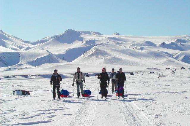 Voyage Expédition à ski et pulka en Islande