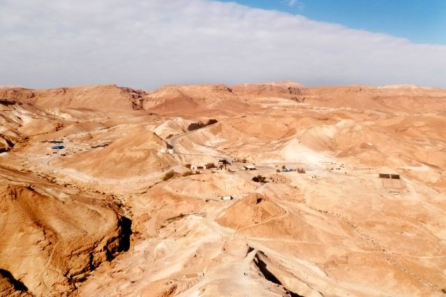 Désert de Judée - Massada - Israël