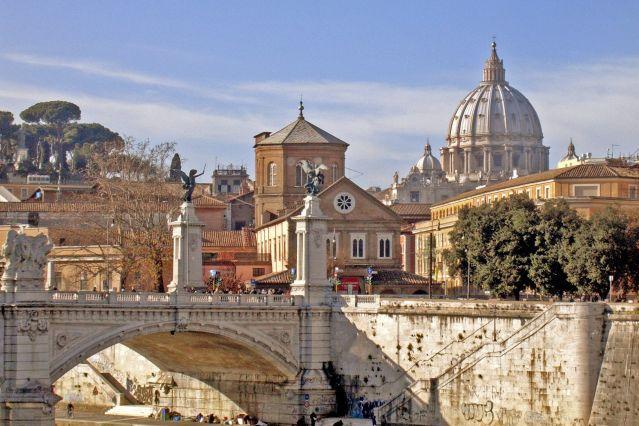 Pont Saint Ange - Rome - Italie