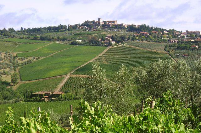 Village de la région de Chianti - Italie