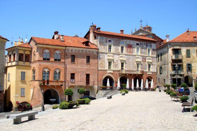 Place de Mondovi - Piémont - Italie