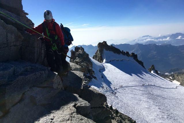 Ascension du Grand Paradis - Alpes - Italie