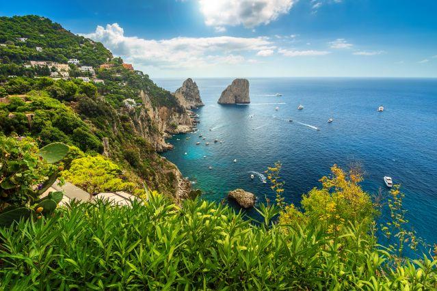 Île de Capri - Golfe de Naples - Italie