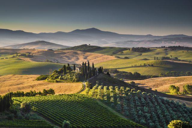 Val d Orcia - Toscane - Italie