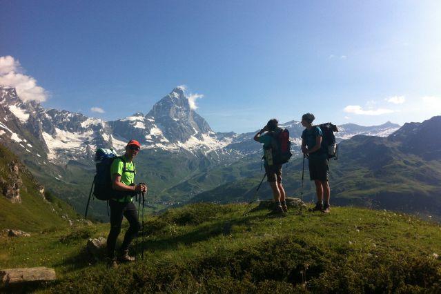 Voyage Le tour des Géants : trek au pied des