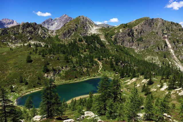 Lac noir - Val Maira - Italie