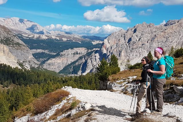 Parc naturel - Fanes-Sennes-Braies - Dolomites - Italie