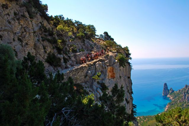 Vue sur l aiguille de Pedra Longa - Santa Maria Navarrese - Selvaggio Blu - Italie