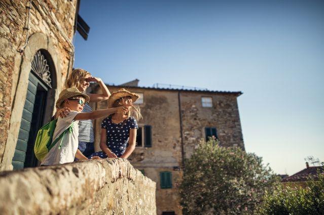 Visite de la toscane en famille - Italie