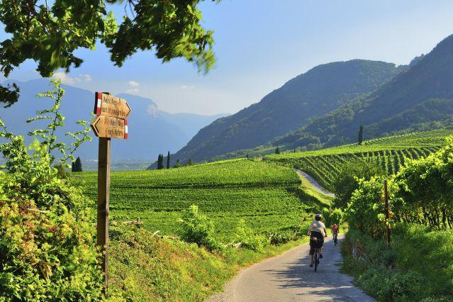 Route de Bolzano à vélo - Italie
