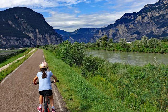 Voyage A vélo des Dolomites au lac de Garde en famille