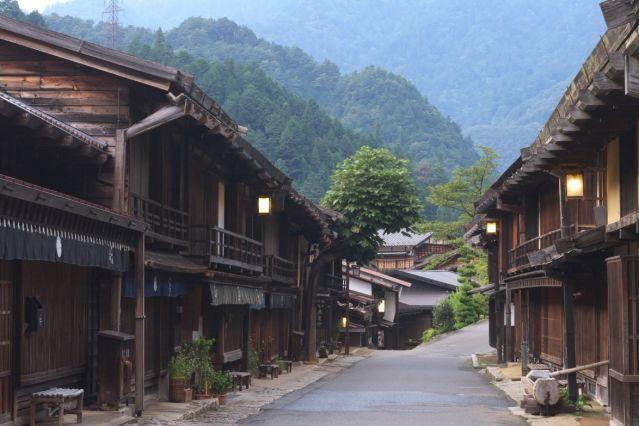 Voyage De Kyoto à Tokyo par la route des montagnes