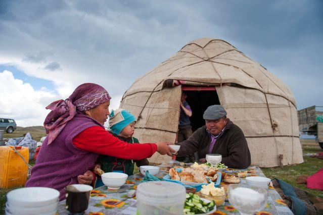 Voyage Aux confins de l'empire kirghize