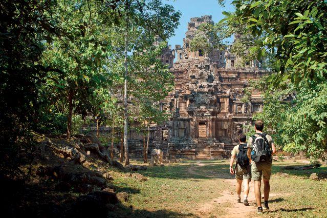 Iles, temples et villages flottants du Cambodge