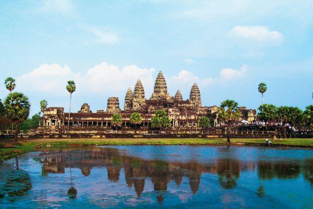 Temple d Angkor Vat - Siem Reap - Cambodge