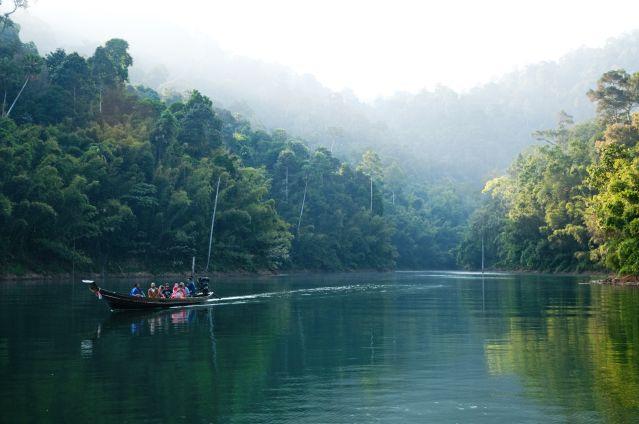 Lac de Cheow Lan - Parc national de Khao Sok - Surat Thani - Thaïlande
