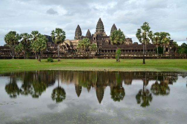 Site d Angkor Vat - Cambodge