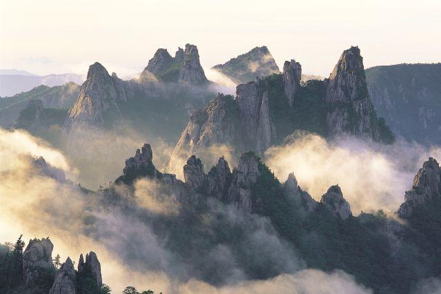 Montagne Seoraksan - Corée du sud