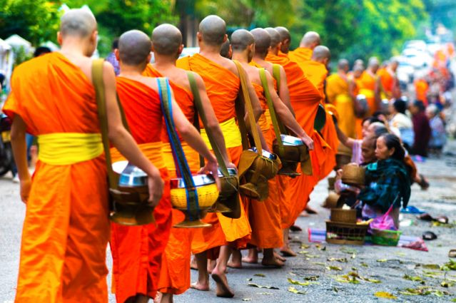 Moines - Laos
