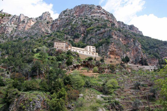 Monastère de Qannoubine - Vallée de la Qadisha - Liban