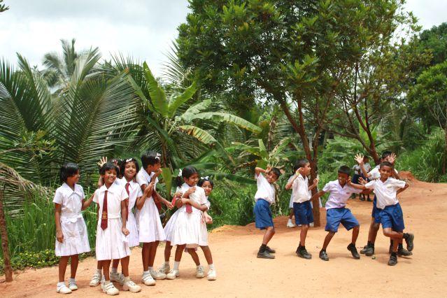 Voyage Petits aventuriers chez les Sri Lankais