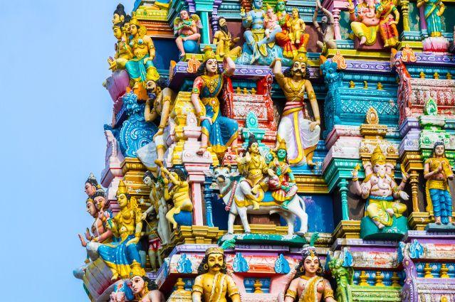 Hindu temple - Sri Lanka