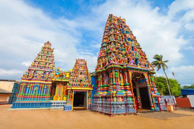 Pathirakali Amman Temple - Trinquemalay - Sri Lanka