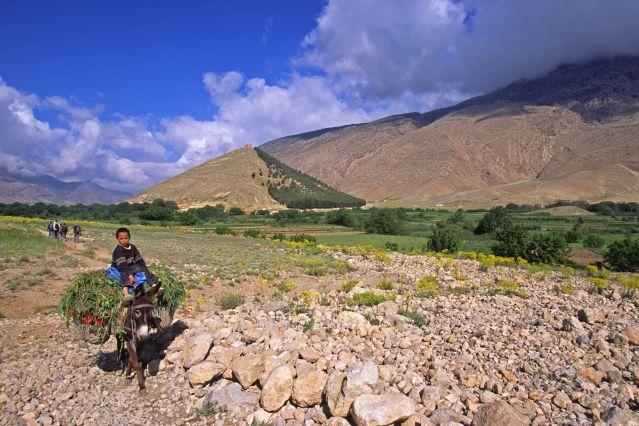 Vallée des Aït Bougmez - Haut Atlas - Maroc