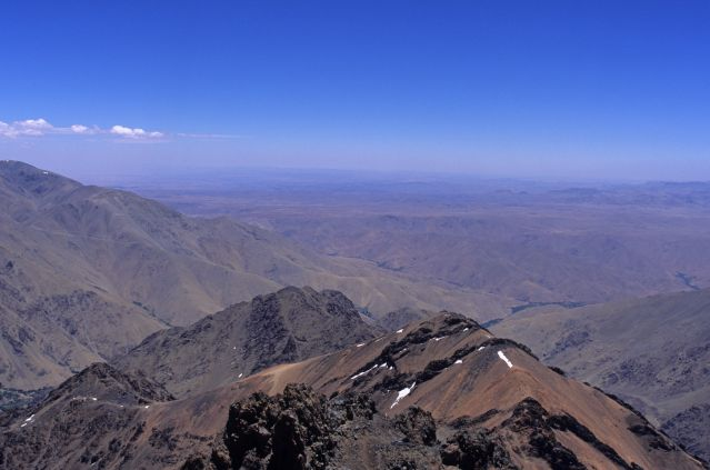© Laurent Boiveau - Ascension du Toubkal - Col sud - Haut Atlas - Maroc