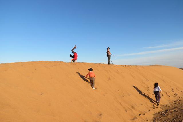Voyage Randonnée chamelière et palmeraie marocaine