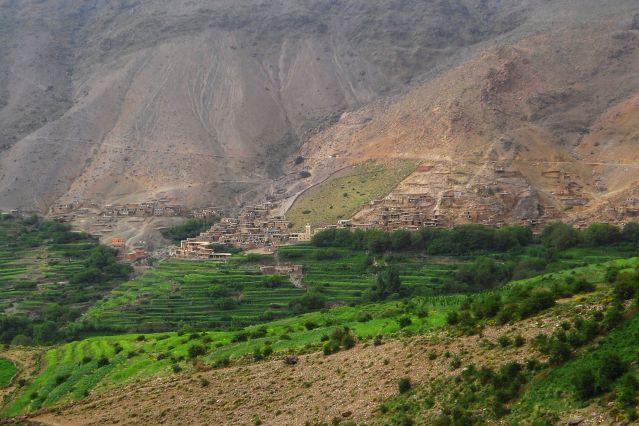 Vue sur Tachdirt - Maroc