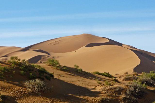 Randonnée dans le désert - Maroc