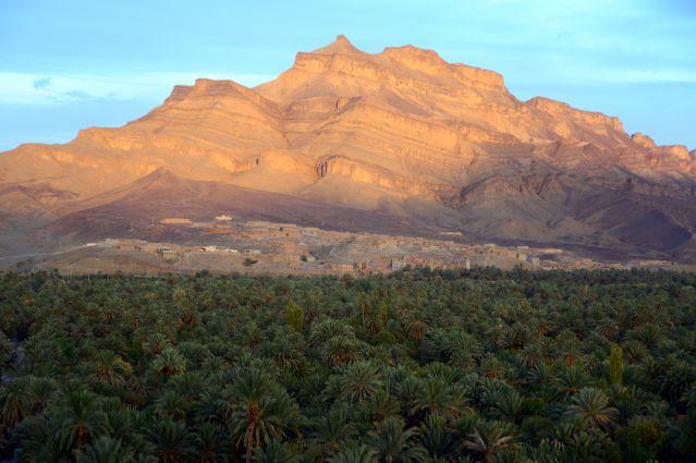La ville d Agdz - Maroc