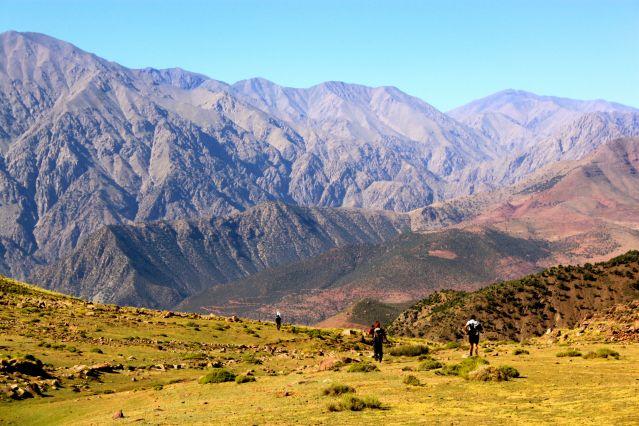 Randonnée dans les montagnes du Toubkal - Maroc