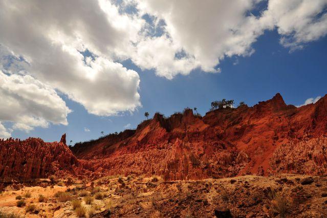 Tsingy rouges - Madagascar