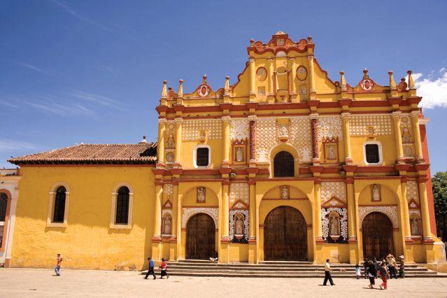 Cathédrale de San Cristobal de Las Casas - Mexique