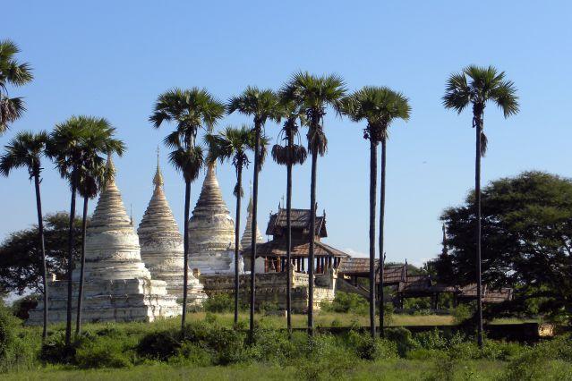 Environs du temple de Htilominlo - Bagan - Birmanie